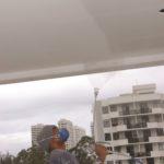 Man Spraying Ceiling